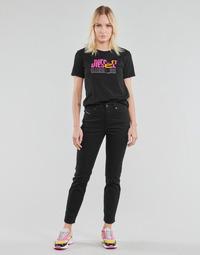 vaatteet Naiset Suorat farkut Diesel D-JOY Musta