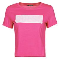 vaatteet Naiset Lyhythihainen t-paita Guess SS CN ADRIA TEE Fuksia