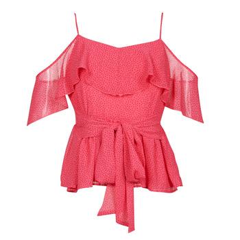 vaatteet Naiset Topit / Puserot Guess SL PAULINA TOP Vaaleanpunainen