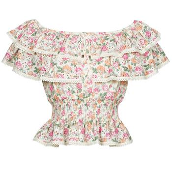 vaatteet Naiset Topit / Puserot Guess SS NEW ISOTTA TOP Vaaleanpunainen
