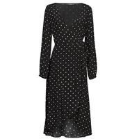 vaatteet Naiset Pitkä mekko Guess NEW BAJA DRESS Musta