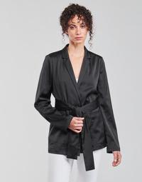 vaatteet Naiset Takit / Bleiserit Guess DIMITRA BLAZER Musta