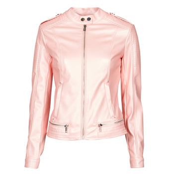 vaatteet Naiset Nahkatakit / Tekonahkatakit Guess NEW TAMMY JACKET Vaaleanpunainen