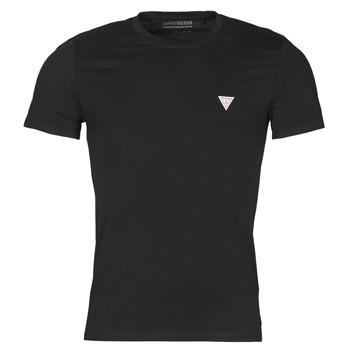 vaatteet Miehet Lyhythihainen t-paita Guess CN SS CORE TEE Musta