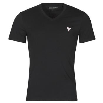 vaatteet Miehet Lyhythihainen t-paita Guess VN SS CORE TEE Musta