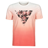 vaatteet Miehet Lyhythihainen t-paita Guess PALM BEACH CN SS TEE Punainen