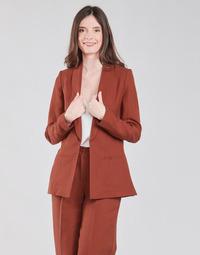 vaatteet Naiset Takit / Bleiserit Naf Naf LINONOU V2 Ruskea