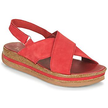 kengät Naiset Sandaalit ja avokkaat Think ZEGA Punainen