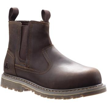 kengät Naiset Turvakenkä Amblers Safety  Brown