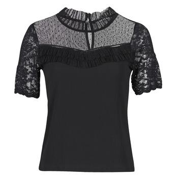 vaatteet Naiset Lyhythihainen t-paita Morgan DANY Musta