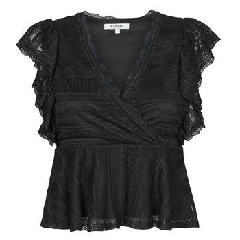 vaatteet Naiset Topit / Puserot Morgan DARLEY Musta