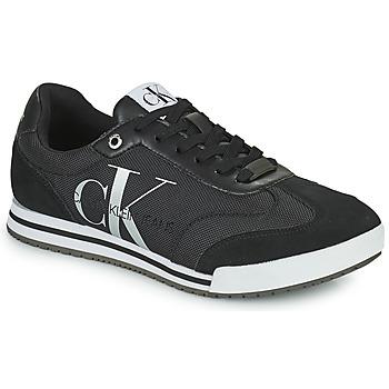 kengät Miehet Matalavartiset tennarit Calvin Klein Jeans LOW PROFILE SNEAKER LACEUP PES Musta