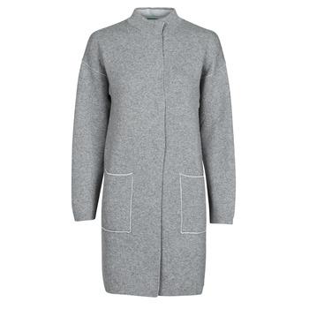 vaatteet Naiset Paksu takki Benetton 1132E9071-507 Harmaa