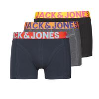 Alusvaatteet Miehet Bokserit Jack & Jones JACCRAZY X3 Musta / Sininen / Harmaa