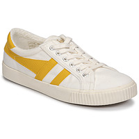 kengät Naiset Matalavartiset tennarit Gola TENNIS MARK COX Beige / Yellow