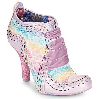 kengät Naiset Nilkkurit Irregular Choice ABIGAIL'S THIRD PARTY Vaaleanpunainen / Violetti