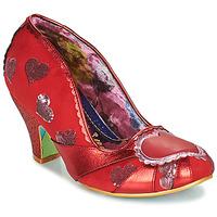 kengät Naiset Korkokengät Irregular Choice HEART ON YOUR SLEEVE Punainen