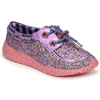 kengät Naiset Matalavartiset tennarit Irregular Choice SKYLAR Violetti