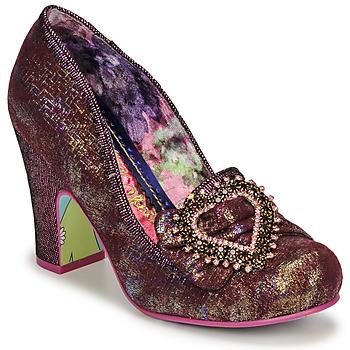 kengät Naiset Korkokengät Irregular Choice LE GRAND AMOUR Vaaleanpunainen