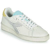 kengät Naiset Matalavartiset tennarit Diadora GAME L LOW ICONA WN Valkoinen / Sininen