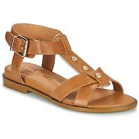 kengät Naiset Sandaalit ja avokkaat Karston SOCAS Kamelinruskea
