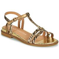 kengät Naiset Sandaalit ja avokkaat Karston SOREN Kulta