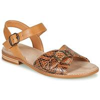 kengät Naiset Sandaalit ja avokkaat Karston XABERO Kamelinruskea / Python