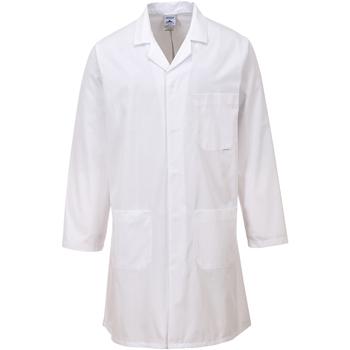 vaatteet Paksu takki Portwest PW175 White