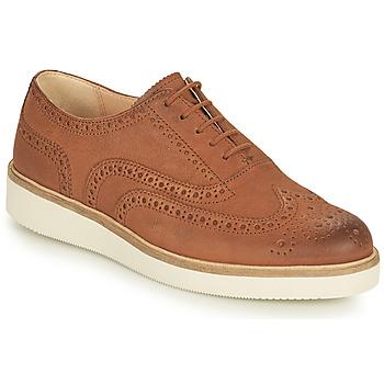 kengät Naiset Derby-kengät Clarks BAILLE BROGUE Kamelinruskea