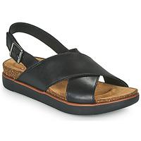 kengät Naiset Sandaalit ja avokkaat Clarks ELAYNE CROSS Musta