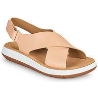kengät Naiset Sandaalit ja avokkaat Clarks JEMSA CROSS Nude