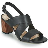 kengät Naiset Sandaalit ja avokkaat Clarks JOCELYNNE BAO Musta