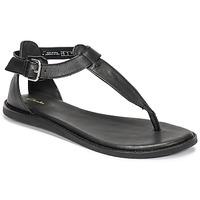 kengät Naiset Sandaalit ja avokkaat Clarks KARSEA POST Musta