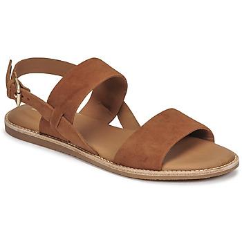 kengät Naiset Sandaalit ja avokkaat Clarks KARSEA STRAP Kamelinruskea