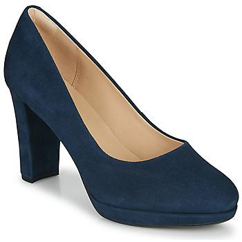 kengät Naiset Korkokengät Clarks KENDRA SIENNA Sininen