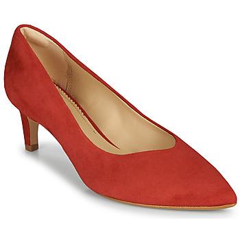 kengät Naiset Korkokengät Clarks LAINA55 COURT2 Punainen
