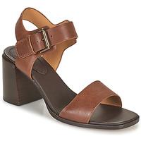 kengät Naiset Sandaalit ja avokkaat Clarks LANDRA70 STRAP Ruskea