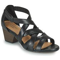 kengät Naiset Sandaalit ja avokkaat Clarks LORENE POP Musta