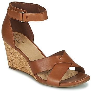 kengät Naiset Sandaalit ja avokkaat Clarks MARGEE GRACIE Ruskea