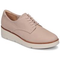 kengät Naiset Derby-kengät Clarks SHAYLIN LACE Vaaleanpunainen
