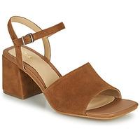 kengät Naiset Sandaalit ja avokkaat Clarks SHEER65 BLOCK Kamelinruskea