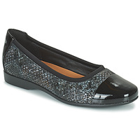 kengät Naiset Balleriinat Clarks UN DARCEY CAP2 Musta