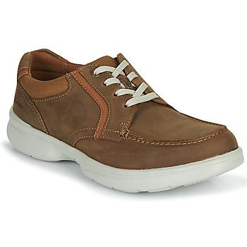 kengät Miehet Derby-kengät Clarks BRADLEY VIBE Beige