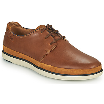 kengät Miehet Derby-kengät Clarks BRATTON LACE Ruskea
