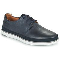 kengät Miehet Derby-kengät Clarks BRATTON LACE Sininen