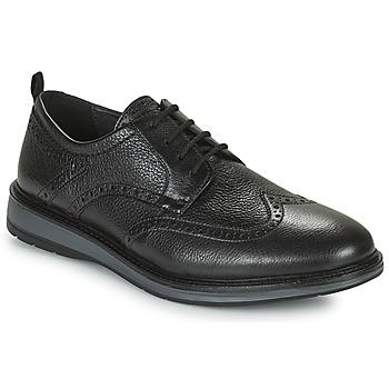 kengät Miehet Derby-kengät Clarks CHANTRY WING Musta