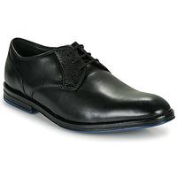 kengät Miehet Derby-kengät Clarks CITISTRIDELACE Musta