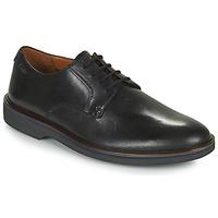 kengät Miehet Derby-kengät Clarks MALWOOD PLAIN Musta