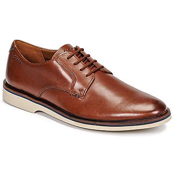 kengät Miehet Derby-kengät Clarks MALWOOD PLAIN Ruskea