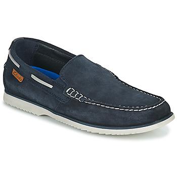 kengät Miehet Purjehduskengät Clarks NOONAN STEP Sininen